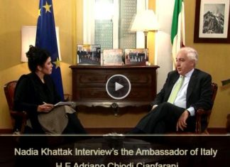 DIPLOMATIC ENCLAVE | Nadia Khattak Interview's the Ambassador of Italy | EP # 05 ( 13th June