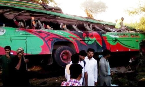 At least 22 killed in Rahim Yar Khan bus collision - Khyber News -Official Website