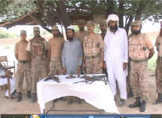 جشن آزادی کے موقع پر تحریک طالبان کے دو اہم کمانڈر سرنڈر