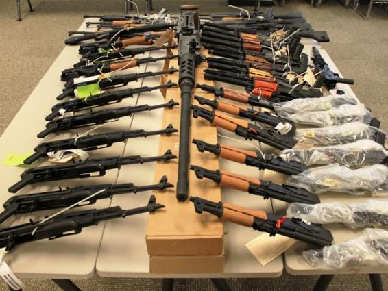 Rangers seize huge quantity of weapons in Karachi - Khyber News ...