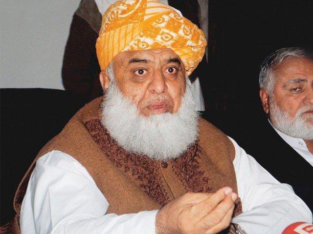 Maulana Fazal announces shutter down strikes in Baluchistan over Chaman tragedy