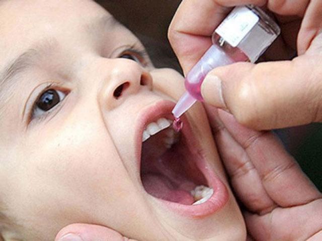 Karachi among eight cities record active polio virus sample