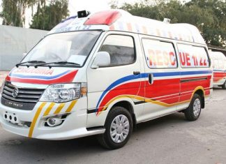 Seven killed, 35 injured as passengers bus overturned near Khanewal