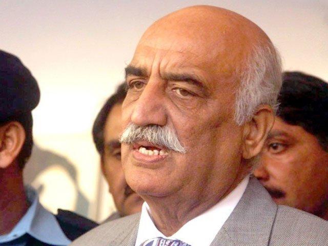 Aleem Khan's incarceration is deception, not reality: Khursheed Shah