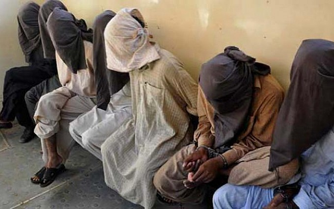 Eight terrorists of banned outfit arrested in Peshawar