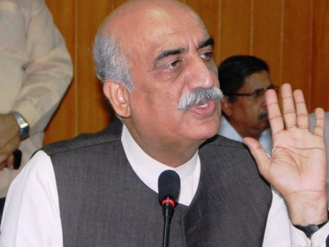 Khurshid Shah calls for talks with PTM to resolve issues