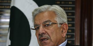 Khawaja Asif appears before NAB Rawalpindi in assets case