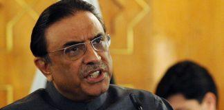 Zardari condemns Peshawar blast