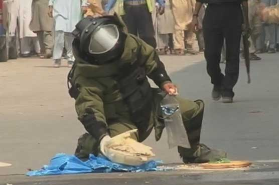 Bomb defused