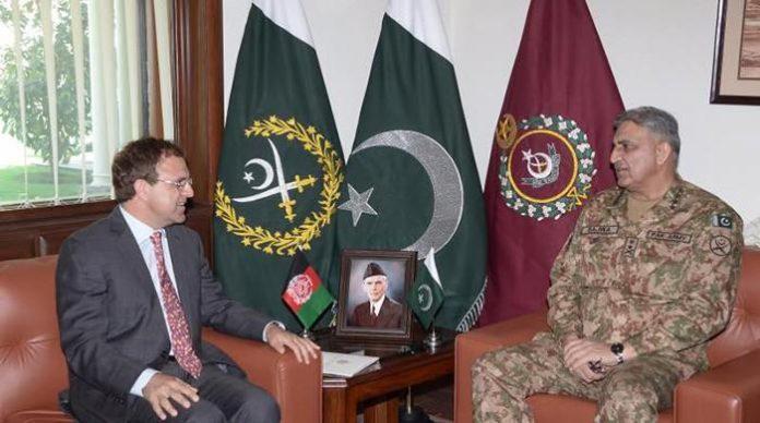 Afghan Ambassador Omar Zakhilwal calls on COAS Bajwa