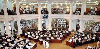 Opposition create ruckus during KP Assembly session