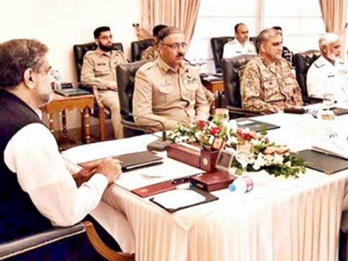 PM Abbasi-NSC meeting