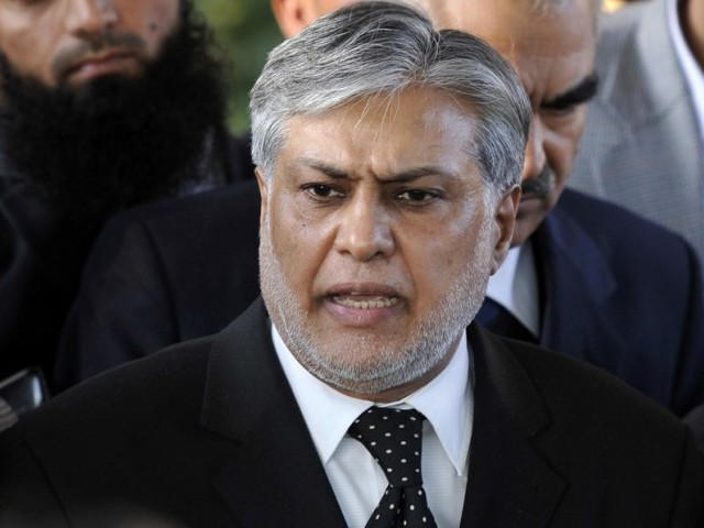 ECP withdraws notification of Ishaq Dar's election as senator