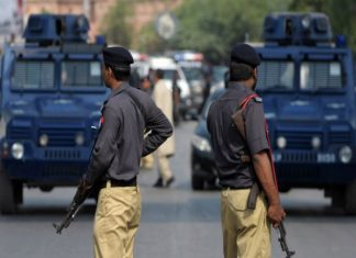 Accused killed, arrested in Karachi
