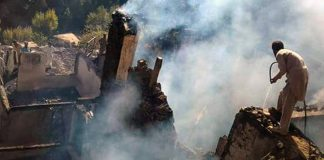House gutted in Upper Dir