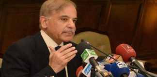 Shehbaz Sharif apologizes from leading Azadi March