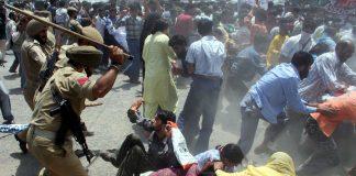 Indian troops atrocities in Occupied Kashmir