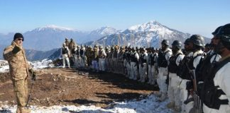 Peshawar Corps Commander visits Pak-Afghan border in Bajaur
