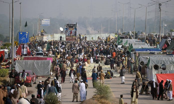 Islamabad Faizabad protest sit-in