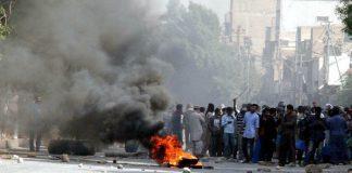 Karachi protests