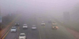 Motorway closed at various points due to dense fog