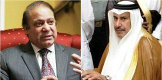 Hamad bin Jassim calls on Nawaz Sharif
