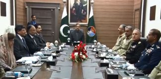 Prime Minister Shahid Khaqan Abbasi chairs National Command Authority (NCA) meeting