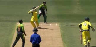Australia U-19 fell down in first ODI as Pakistan snatches victory