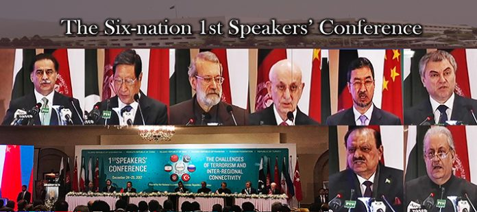 Six-nation maiden Speakers' Conference
