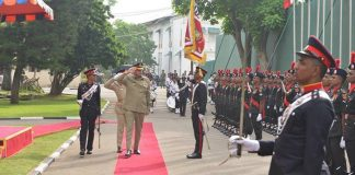 COAS discusses security, defence cooperation with Sri Lankan military leadership