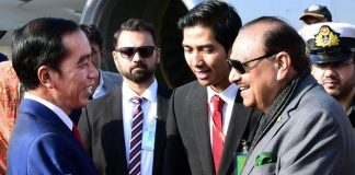 President Mamnoon takes up Zulfiqar's repatriation with Indonesian counterpart