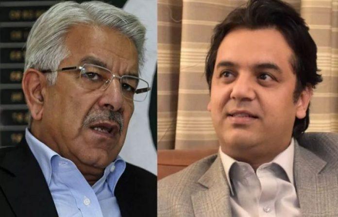 PTI's Usman Dar submits evidence with NAB against Khawaja Asif