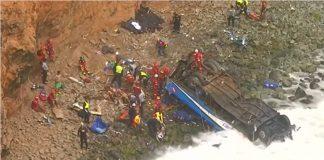 Peru bus accident