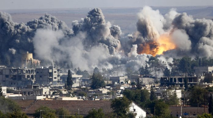 US-led strikes kill up to 150 IS fighters in Syria: coalition