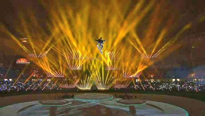 PSL-3 launched amid music, festivities and fireworks in Dubai