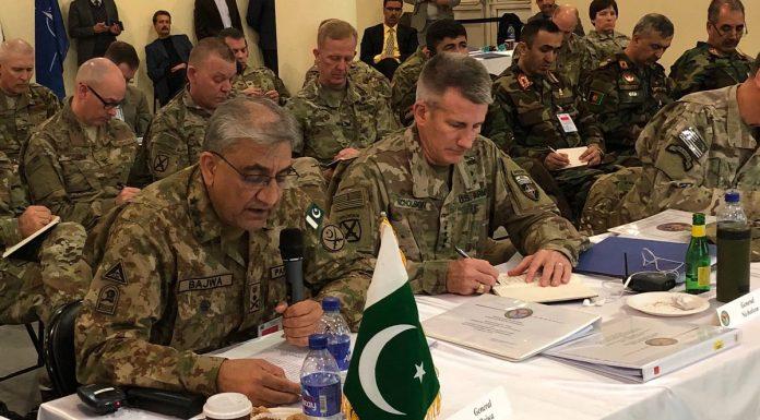 Gen Bajwa Afghanistan