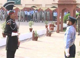 Change of guards ceremony held at Allama Iqbal mausoleum