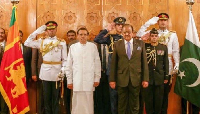 Pakistan, Sri Lanka to increase collaboration for regional peace