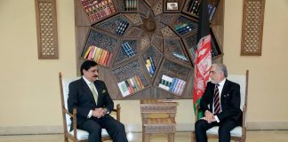 Janjua in Kabul, discusses bilateral relations with Abdullah Abdullah