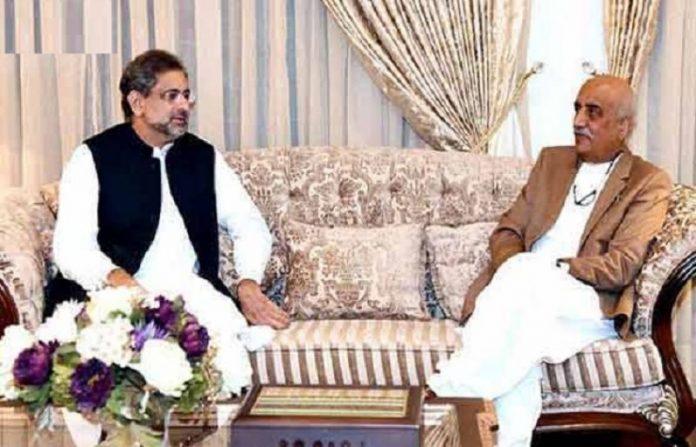 PM Abbasi, Khursheed Shah for finalizing name of caretaker PM
