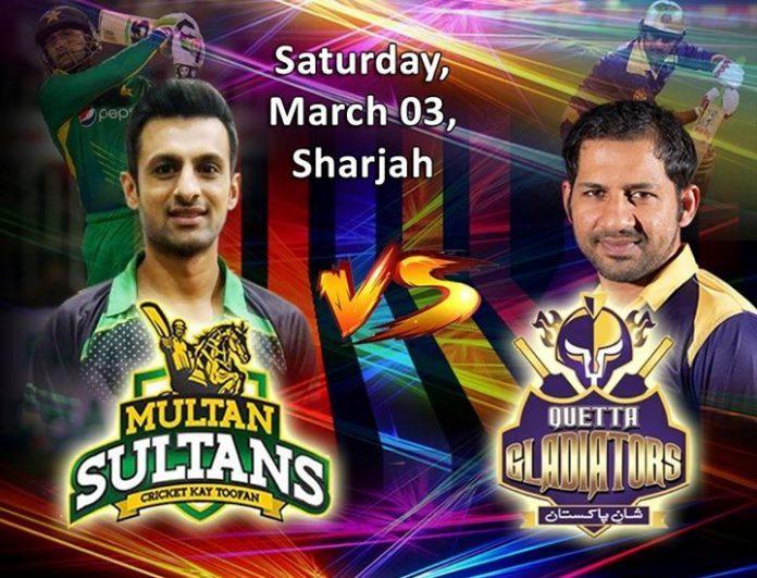 PSL-3: Quetta Gladiators to take on Multan Sultans today