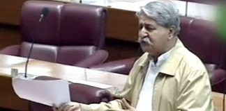Naveed Qamar criticizes interior ministry for not putting Sharif family's names on ECL
