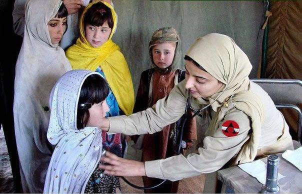 1,853 patients given free medical aid at Army medical camp