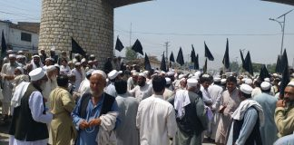 Khyber Agency affectees block Pak-Afghan Highway