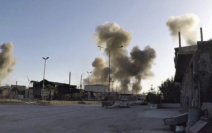 Air strikes kill seven civilians in southern Syria: monitor