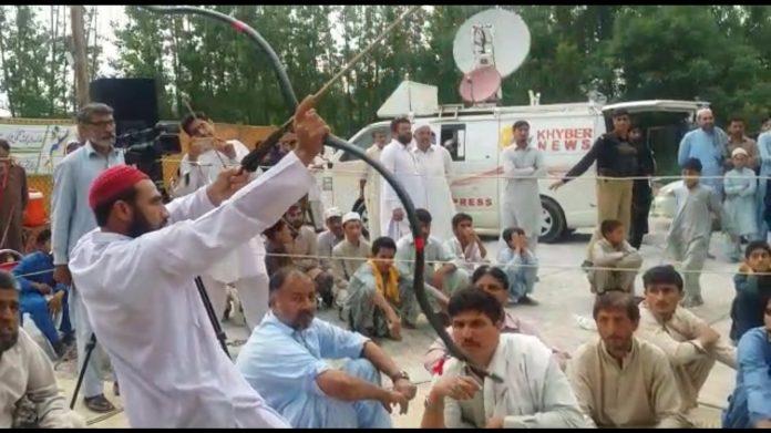 Traditional Mukha tournament kicks off in Mardan
