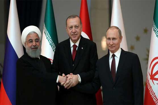 Turkey, Russia, Iran urge'lasting ceasefire' in Syria