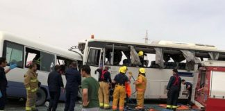 Three Pakistanis among 15 workers dead in Kuwait bus collision