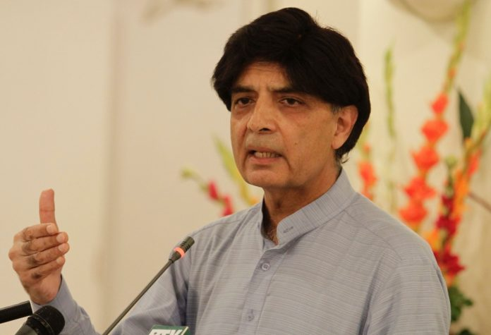 """Chaudhry Nisar to contest elections with electoral sign """"jeep"""""""