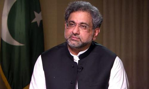 Stop talking against judiciary, LHC directs Shahid Khaqan Abbasi